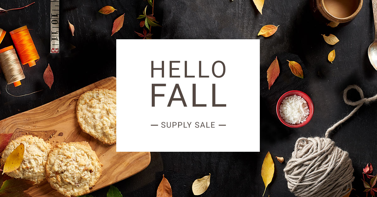 For All You Crafters -*Huge* Supply Sale at Craftsy Through This Weekend Only!