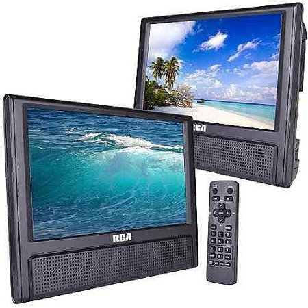 Dual Screen Mobile DVD Player Only $73.59 (Reg. $129.88) After Cash Back At Walmart!