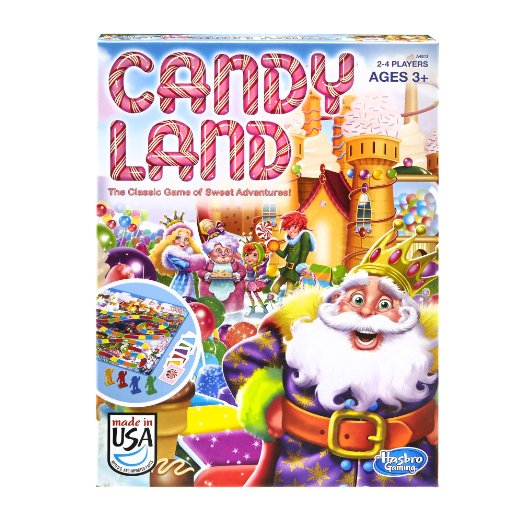 Amazon – Candy Land Game $5.92 & Free Prime Shipping