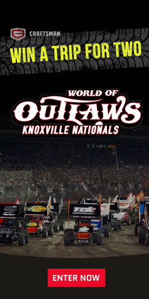 Enter Craftsman Club World of Outlaws Sweepstakes!