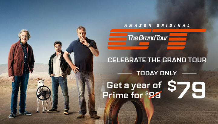 *HURRY* Amazon Prime 1-Year Membership Only $79 (Reg $99) Ends Today!