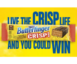 Win Over 250 Prizes Instantly in the Nestle Crisp Life Sweep