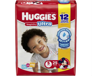 *Hot Deal* Huggies Diapers at Walmart for Only $4.97 with Coupons