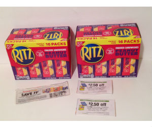 FREE + Moneymaker Ritz Cracker Sandwiches at Publix with Coupons