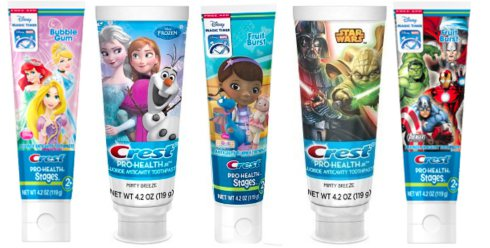 Save – $0.75 off one Crest Kids Toothpaste