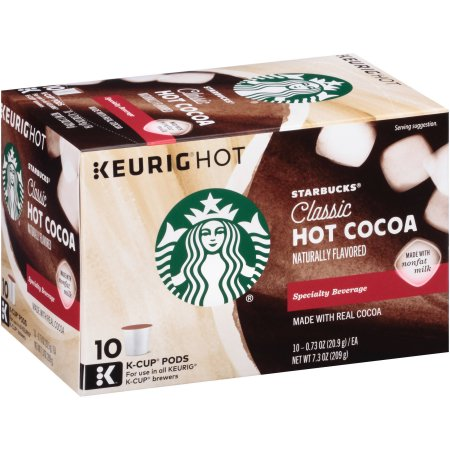 Save – $2.50 off any 2 Starbucks Hot Cocoa