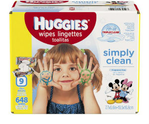 *Hot Deal* Huggies Simply Clean Baby Wipes 648ct Box ONLY 8.99 Shipped!
