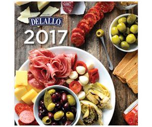 Free 2017 DeLallo Recipes & Coupons Calendar