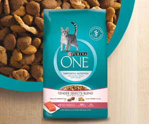 Free Sample of Purina One Tender Selects Cat Food