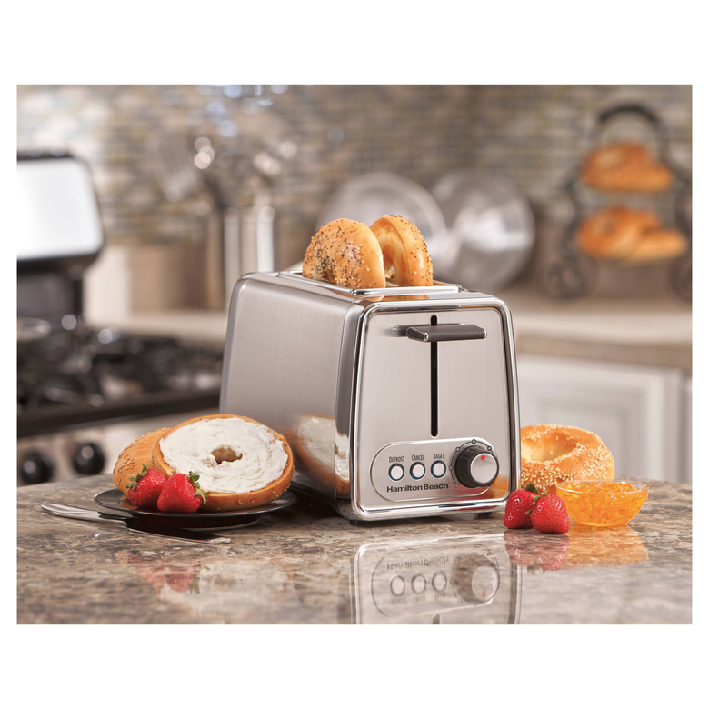 *HOT* Hamilton Beach Chrome 2-Slice Toaster Only $9.95!