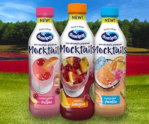 Free Ocean Spray Mocktails Juice at Kroger & Affiliates