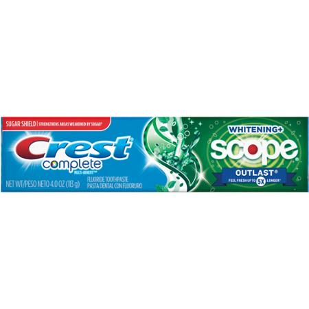 New Coupon – Save $2.00 ONE Crest Toothpaste 3.0 oz or larger OR Liquid Gel