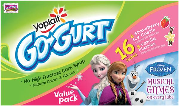 New Coupon -Save $1.00 when you buy any flavor/variety Yoplait Go-GURT16CTOR LARGER.