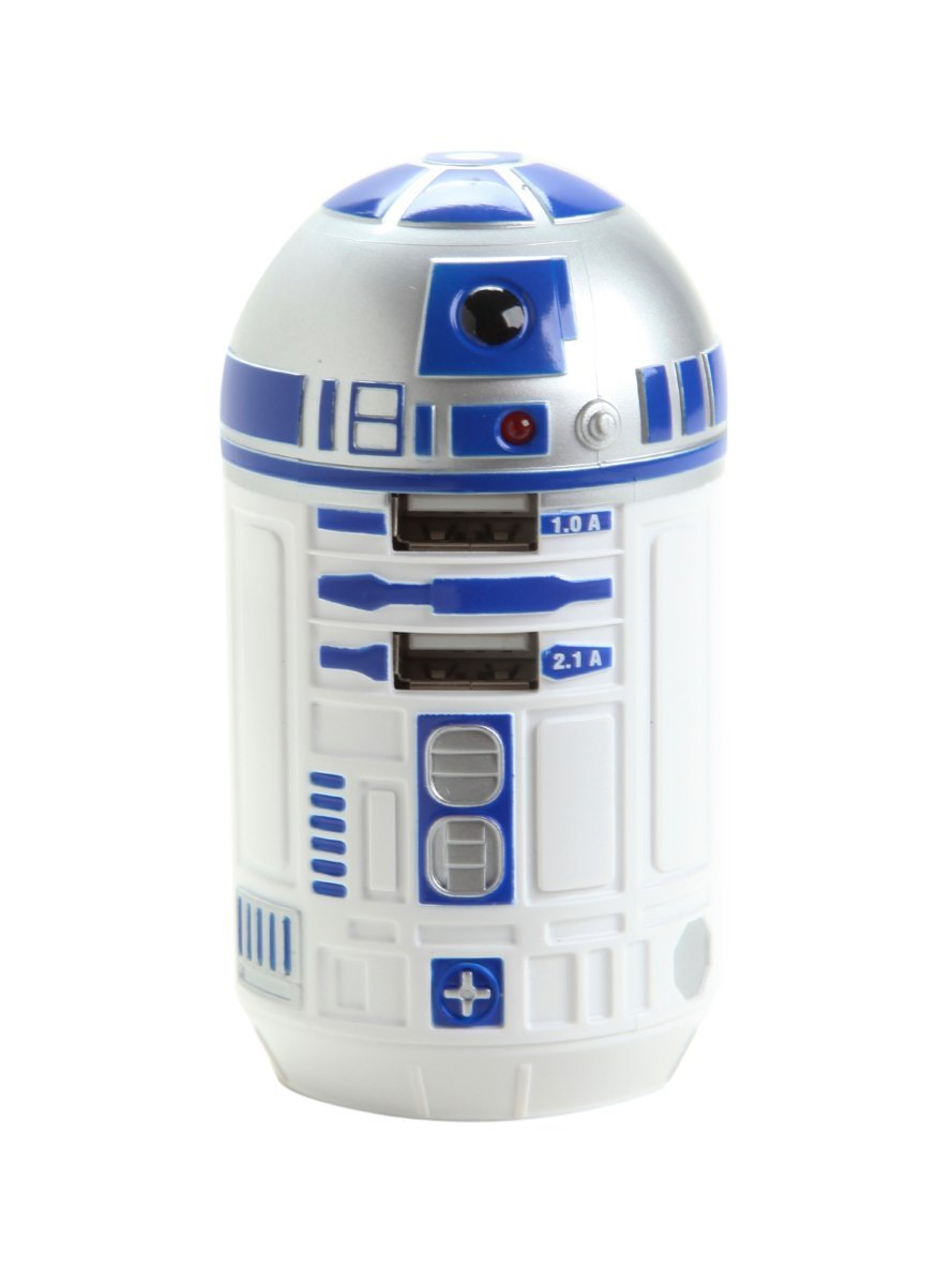 Amazon Deal – Star Wars R2-D2 USB Wall Charger Only $18.95 Plus FREE Shipping!