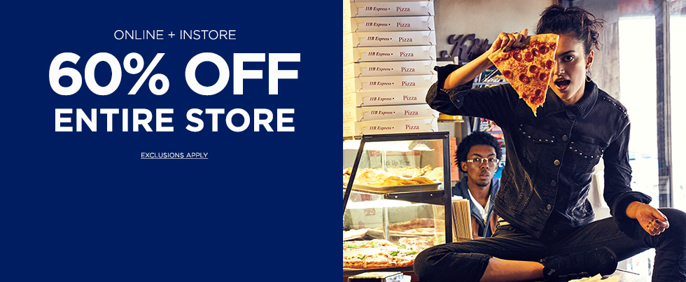 Aeropostale – 60% Off Entire Store and Online