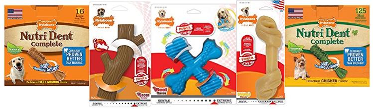 Amazon Deal – Save up to 40% on Nylabone Dog Toys & Treats