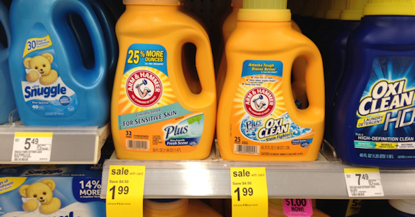 Arm & Hammer Detergent at Walgreens for $0.99