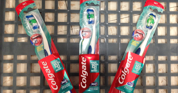 Colgate 360 Toothbrush at Walgreens for $0.24 Each