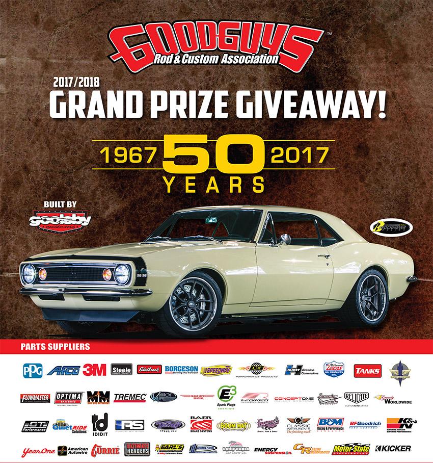 Win a 1967 Chevrolet Camaro