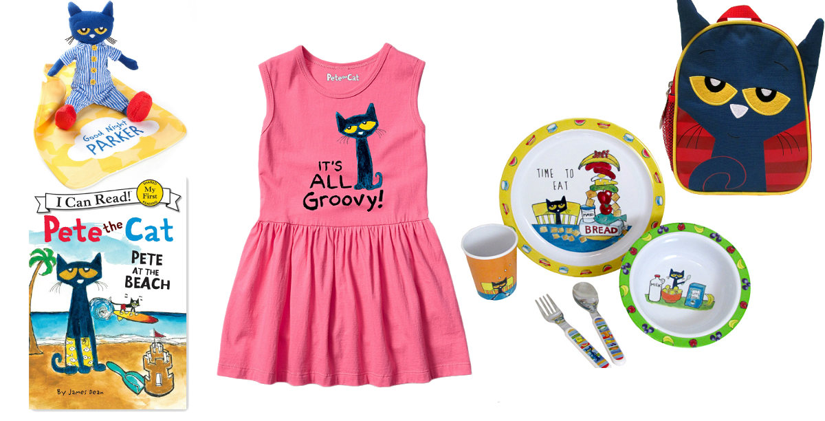 50% Off Pete The Cat Toys, Books and Clothes