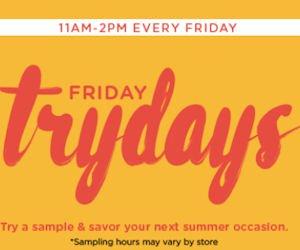 Free Samples at HoneyBaked Ham Every Friday