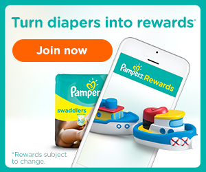Join Pampers Rewards and turn diapers into rewards and savings – Plus Get Exclusive Coupons!