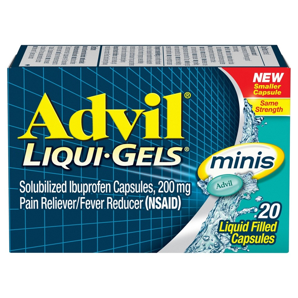 New Coupon – Save $1.00 any ONE (1) Advil Liqui-Gels Minis 20ct or higher