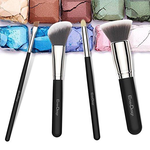 *Hot* Amazon Deal -Save 83% On EmaxDesign 8 Pieces Makeup Brush Set – Only $6.99 (Reg.$39.99)!