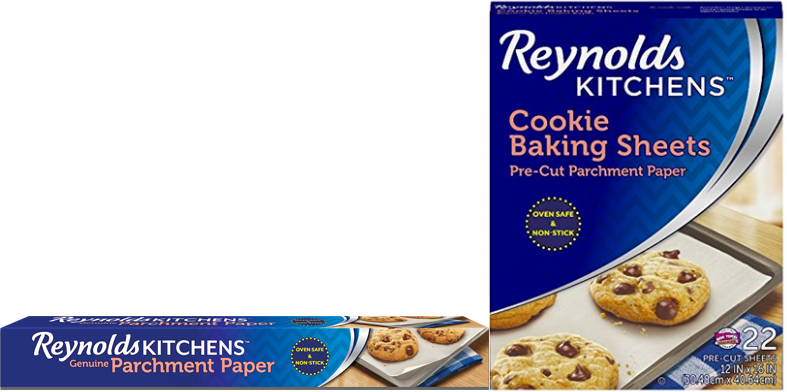 New Coupon – Save $1.00 on ONE (1) package of Reynolds Kitchens Parchment Paper with SmartGrid or Cookie Baking Sheets