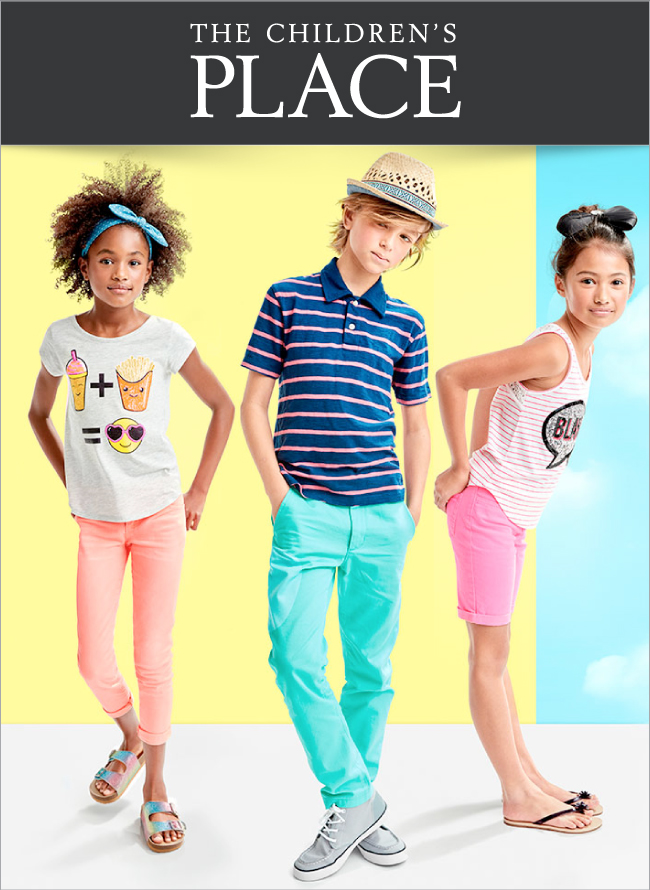 Save 75% Off Children's Place Clearance + FREE Shipping (Today Only)