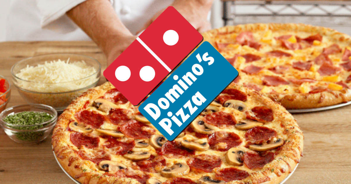 FREE Domino's Pizza When You Buy One