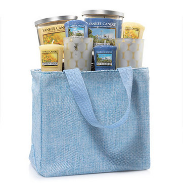 Yankee Candle Gift set With Blue Tote Bag Only $20.00 (Reg $39.99)