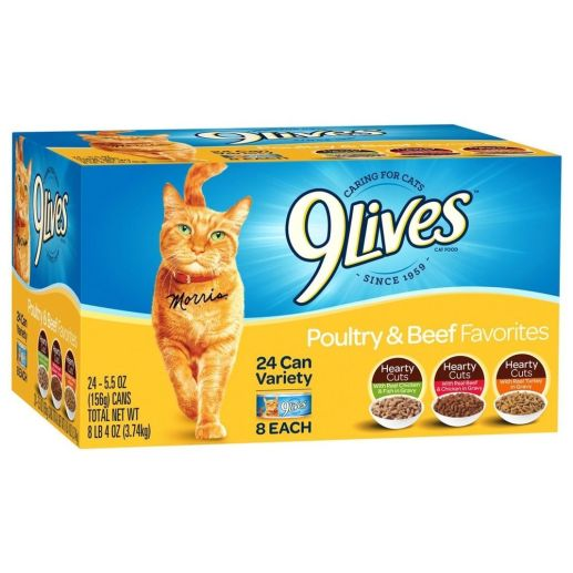 9Lives Wet Cat Food Coupon