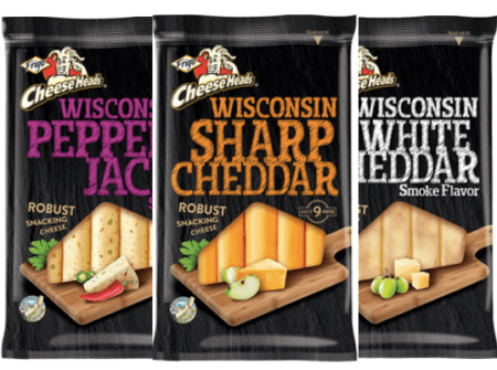 Save $0.75/1 Frigo Cheese Heads Wisconsin Snacking Cheese