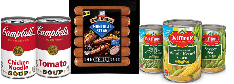 Huge List Of New Coupons Available – McCormick, Del Monte, Campbell's & More!
