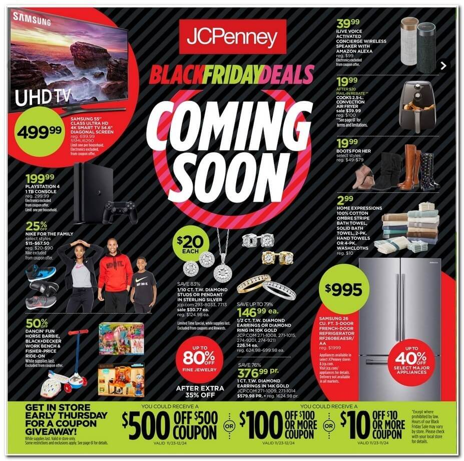Preview The JCPenney Black Friday Ad Scan