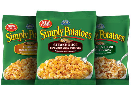 Save $1.00 on TWO (2) Simply Potatoes Hashbrown or Diced Potato Varieties