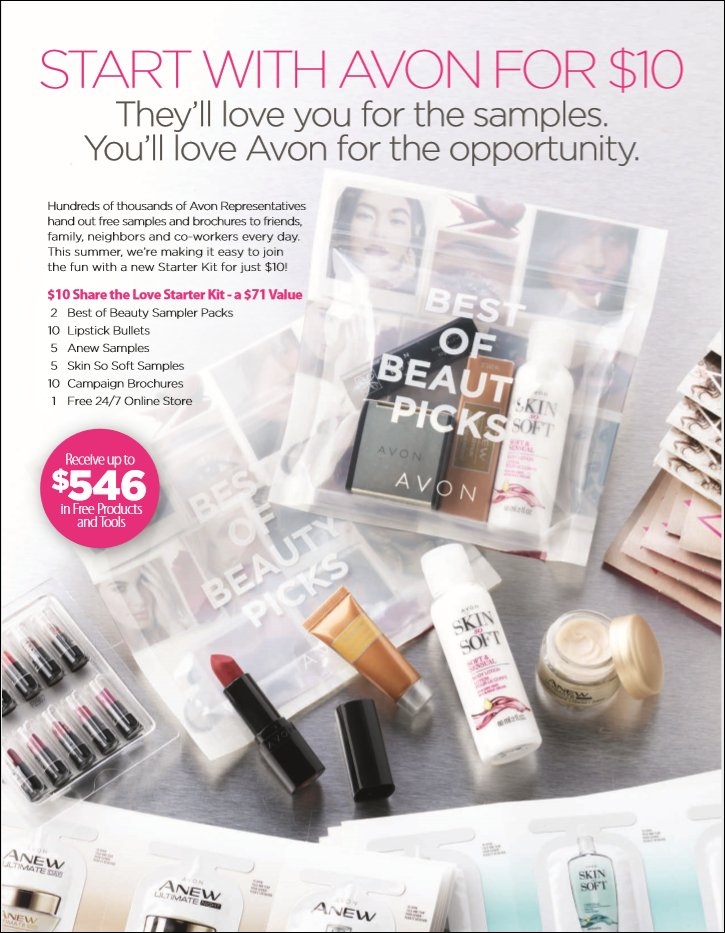 *HURRY * Be Your Own AVON Beauty Boss For Just $10 (Limited Time Only)