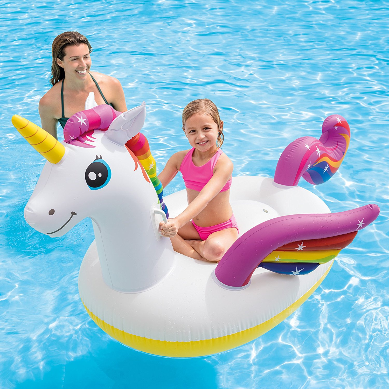 Amazon Prime Deal: Unicorn Inflatable Ride-On Pool Float Only $11.89 + FREE Shipping