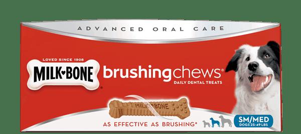 New Coupon – Save $1/1 Milk-Bone Brushing Chews Daily Dental Treats