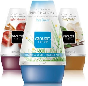 Renuzit Adjustables Air Freshener ONLY $0.61 each at CVS