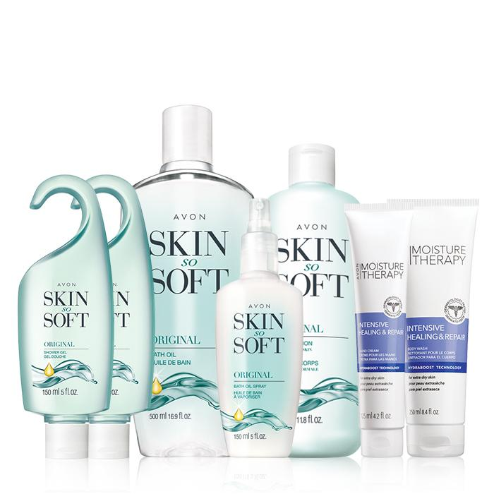 Avon – 7 Piece Skin So Soft Daily Care Collection Only $19.99 (Retails For $65)