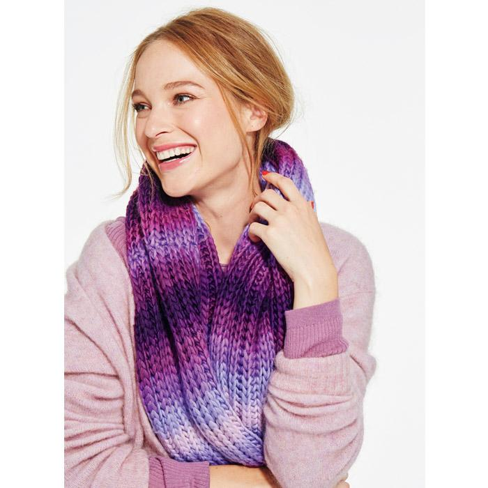 Purple Peace Infinity Ombre Scarf Only $14.99 (Reg. $25.00) Plus FREE Shipping