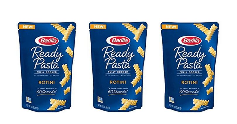 SAVE $1 On ONE (1) Barilla Ready Pasta pouch