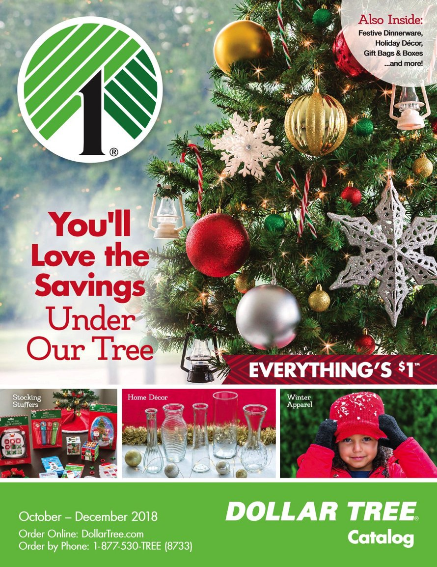 The 2018 Dollar Tree Holiday Catalog Is Available