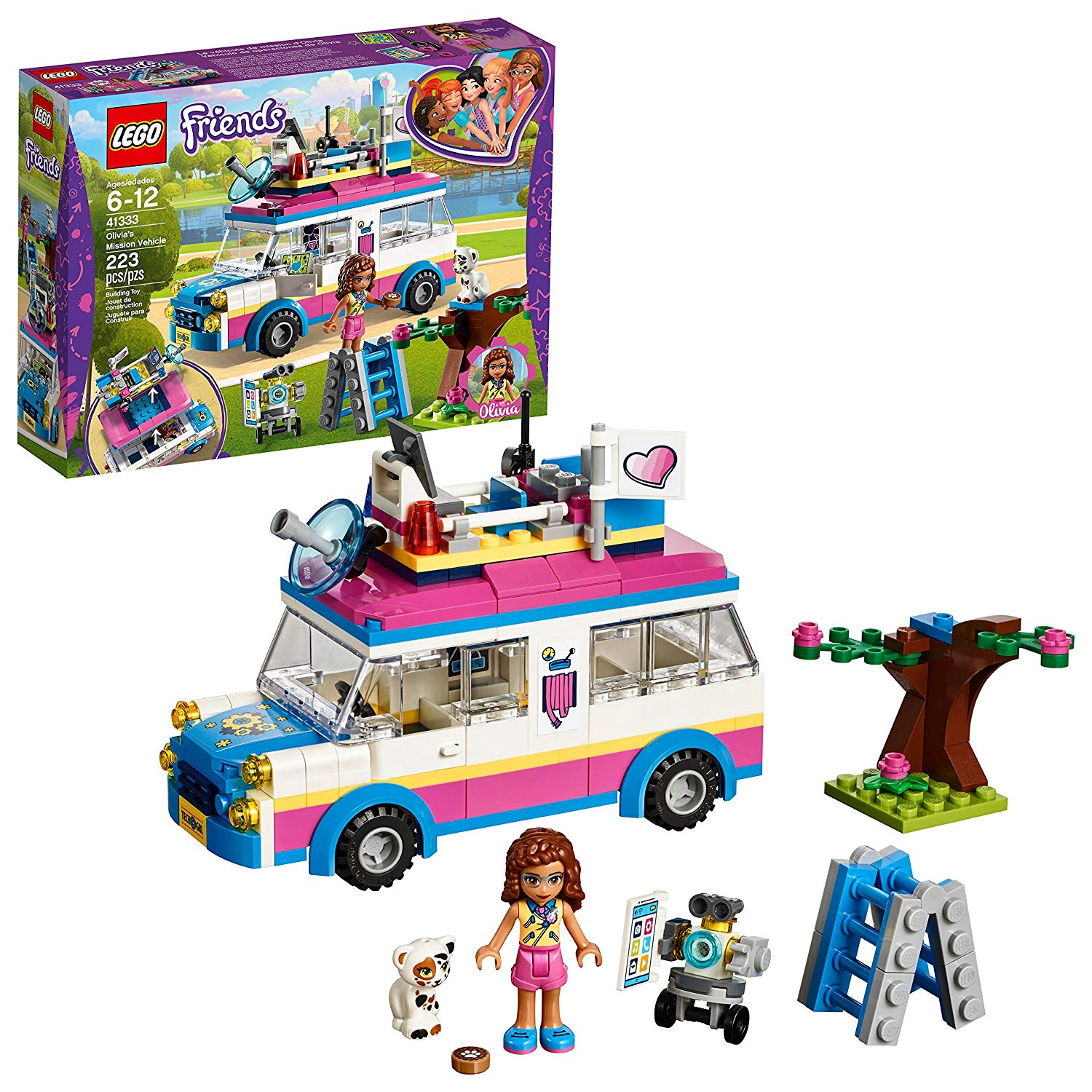 LEGO Friends Olivia's Mission Vehicle ONLY $13.48 (Reg. $20)