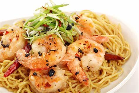 Free Long Life Noodles & Prawns at P.F. Chang's