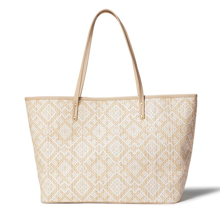 Geo Carryall Tote Only $19.99 (Reg.$29.99) Plus FREE Gift