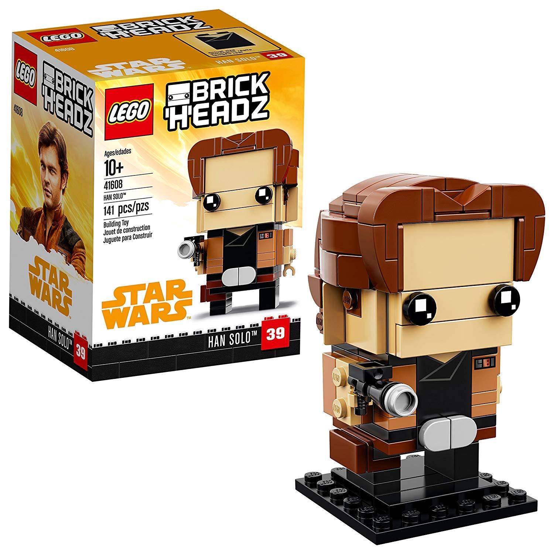 LEGO BrickHeadz Han Solo Kit ONLY $4.49 (Reg. $10)