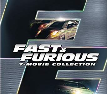 Fast & Furious 7-Movie Collection ONLY $16.16 (Reg. $30)